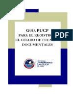 Citado de Fuentes Documentales - PUCP
