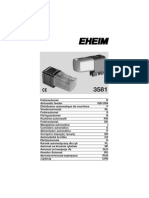 EHEIM Automatic Feeder 3581 Manual