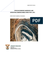 South African Diamond and Operating Diamond Mines Directory