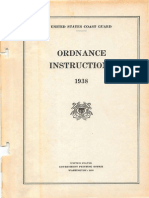USCG Ordnance Instructions- Usa 1938