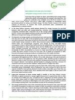 Factsheet - Subsidies on Fossil Fuels