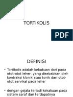 TORTIKOLIS presentasi