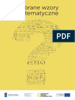 MATURA 2015 Wybrane Wzory Matematyczne