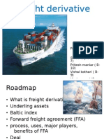 Freight Derivative (PPT)