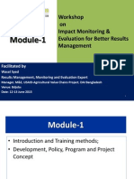 D-1 Module-1 Introduction Basic Policy June 2015