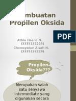 Pembuatan Propilen Oksida