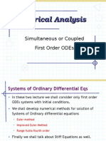 Coupled 1st Order ODEs