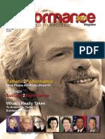 Professional Performance Magazine P360 Richard Branson Vol 21, No. 3
