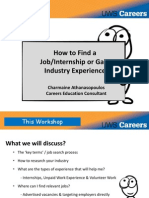 How to Find a Job 2015