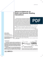 Advanced Methods for Static and Dynamic Shafting Calculations