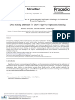 Data Mining Approach for Knowledge-based Process Planning