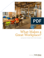 What Makes a Great Workplace White Paper