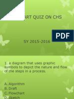 Quiz on Basic Flowcharting on Chs