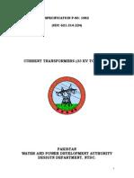 P-90-82  F_CT's 33 To 132 kV_