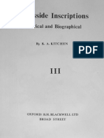 Kenneth a. Kitchen - Ramesside Inscriptions Vol 3