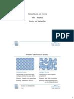 WkC - Struktur Von Werkstoffen