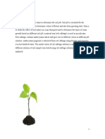 Soil Acidity and Alkalinity Proposal (2015)