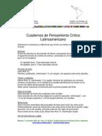 Cuadernos Pensamiento Crítico Latinoamericano. Normas Editoriales