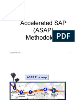 SAP Asap Methodology