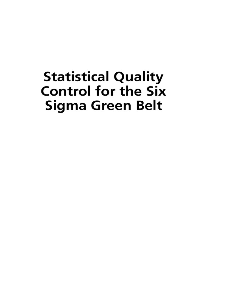Six sigma green belt handbookpdf six sigma confidence interval 1betcityfo Image collections