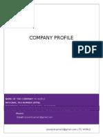 Pc World - Company Profile