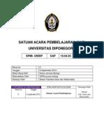 SAP Biologi Mikroorganisme