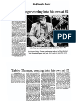 1991 Interview with Tabby Thomas