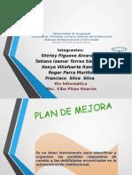 Grupo#5 Plan de Mejora
