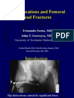 L01 Hip Dislocatinos Femoral Head