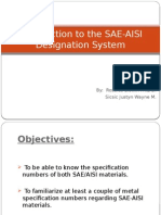 Introduction to the SAE-AISI Desiganation System