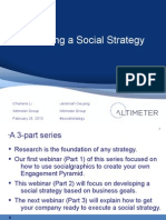 Developing a Social Strategy