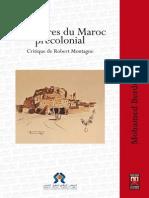 Berdouzi Structure Maroc Critique Montagne