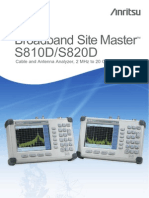 Anritsu S820D Manual