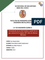 Formulación de GLP Andino