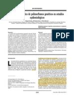 Análisis estadístico de polimorfismos genéticos en estudios epidemiológico