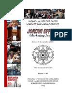 TUGAS AKHIR - Jokowi Effect Dalam Perspektif Pemasaran Politik-edited