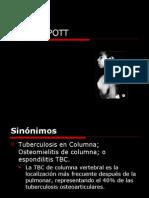 MAL DE POTT