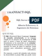 Transac-SQL