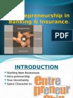 Entrepreneurship in Banking & Insurance