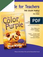 A Guide for Teachers - Colour Purple