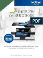 Brosur Printer Brother MFC-J3720 test