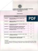 Peraturan Am Mengisi Dokumen Perjanjian