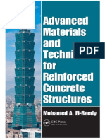 Advanced Materials and Techniques for Reinforced Concrete Sctructures