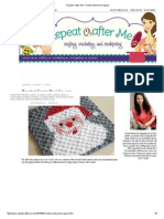 Repeat Crafter Me_ Crochet Santa Pixel Square