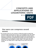 Log Units and Applications