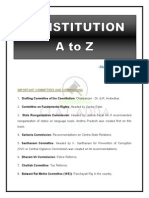 Constituion a to Z