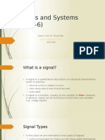 Signal and System Lecture Note 1
