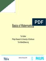 PrinciplesOfWatermarking