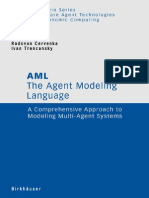 Agent Modeling Language, AML_ a Comprehensive Apprdeling Multi-Agent Systems, The - Radovan Cervenka