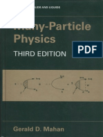 Gerald D. Mahan Many-particle Physics 2000
